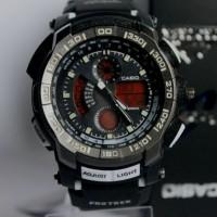 jam tangan Gshock Protrek Series 1125 Hitamlist Putih Kw Super