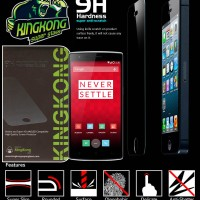 Original Anti Gores Kingkong Super Premium Tempered Glass OnePlus One