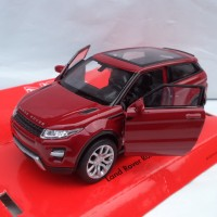 Land Rover Range Rover Evoque Red Welly Official Licensed Product