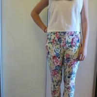 legging motif bunga