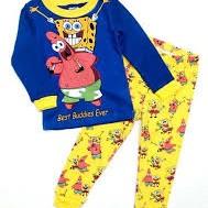 Piyama Anak Gap Sponge Bob