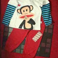 Piyama Anak Gop Monkey