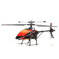 Helicopter RC WL V912 4Ch Single Blade 2,4GHZ panjang 52cm, LCD Remot