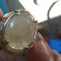 harga batu kecubung serat rambut emas natural ora larang Tokopedia.com
