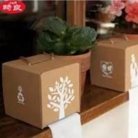 Kotak Tisu / Tissue Karton Motif Kampanye Ramah Lingkungan