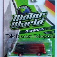 Greenlight Motor World Volkswagen Panel Black and