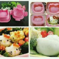 Cetakan Nasi Telur kity Rice Egg Mold Bento Tools Hello kitty Hk helo