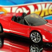 FERRARI 458 SPIDER (Hot Wheels) NEW MINT LOOSE