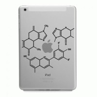 Tokomonster Decal Sticker Apple iPad Mini and Air - Rumus Fisika Apple