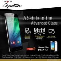 Advan Vandroid S5x+ / S5x Plus Signature - Android 5.5