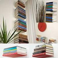 harga Rak Buku Tak Kelihatan (rbtk) Minimalis & Elegant Termurah&terkuat Tokopedia.com