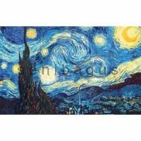 PR050x - The Starry Night - van Gogh - 24R PVC - lukisan