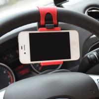 harga Universal Phone Clip Holder / Holder Hp Pada Stir Mobil / Motor Tokopedia.com