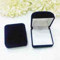 Jual Kotak cincin bludru warna biru Murah