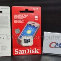 SanDisk microSD 16GB Class 4 microSDHC micro SD SDHC SDSDQM-016G-B35N