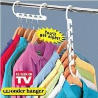 harga Wonder Hanger Magic Gantungan Baju Pakaian isi 8 pcs door lemari baju Tokopedia.com