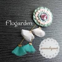 harga bross bunga flogarden Tokopedia.com