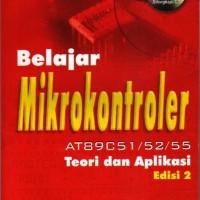 harga Belajar Mikrokontroler At89c51/52/55 Edisi 2 Tokopedia.com