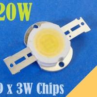 harga Lampu Led Hpl Luxeon 20 Watt  3.200k Warm 1600-1700lm 11volt 9*3w Cip Tokopedia.com