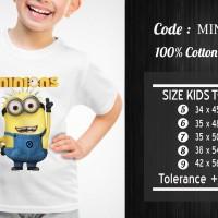 Kaos Anak Minion / Kaos Anak Despicable Me - KMIN-030