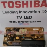 Power Supply-Regulator Board- PSU TV LED TOSHIBA 32P2300VJ