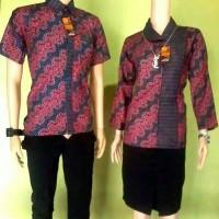 Batik Couple Liris Naga Merah