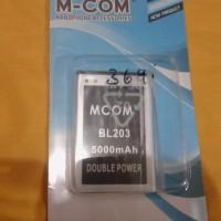 Baterai Mcom Double Power Bl203 For Lenovo A369 A369i A316 5000mah
