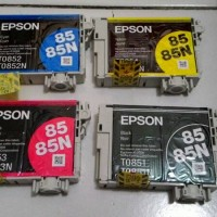 Cartridge / tinta epson 85 / 85N satuan ori loosepack untuk 1390 / T60