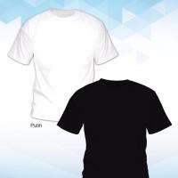 (Size L) - Grosir Kaos Polos Cotton Combed 30s Murah