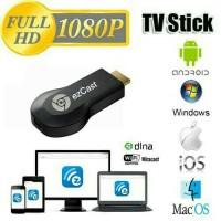 Alat Penghubung Smartphone ke HD TV Ezcast Miracast HDMI Wifi Dongle