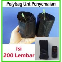 Polybag ukuran kecil unt semai benih