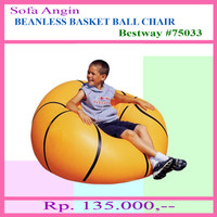 Sofa Angin Bola Basket - Orange (75033)