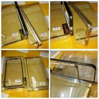Luxury Bumper Case Aluminium List Gold For Apple Iphone 6 Plus 5.5 Inc