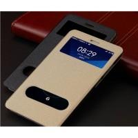 Leather Flip Dual Window Case Asus Zenfone 6