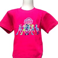 harga Kaos My Little Pony Equestria Girl (2) Ukuran Anak Tokopedia.com