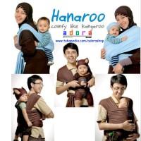 Jual HANAROO BABY WRAP / GENDONGAN ANTI PEGAL HANAROO POLOS MURAH SURABAYA Murah