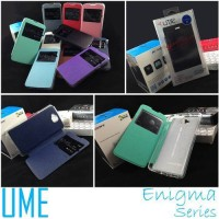 Flip Cover Leather Ume Enigma View Case Lenovo Vibe X S960