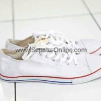 sepatu converse allstar slim full putih +BOX MURAH!