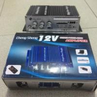 Dijual Amplifier (12volt) Mini Bisa Baca Mp3 dan Memori Usb