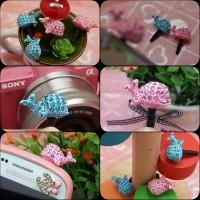 harga Dolphin ( Jewelry Pluggy / Earplug / Dustplug / Gantungan Hp ) Tokopedia.com