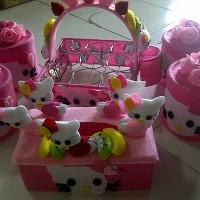 Table Set Hello Kitty - Handmade
