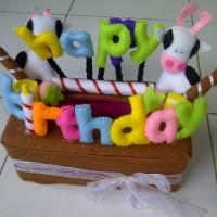 Kotak Tissue Happy BirthDay