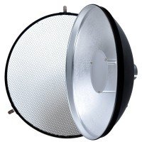 Godox Beauty Dish AD-S3 with Grid AD-S4 for WITSTRO Speedlite Flash