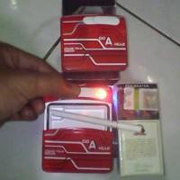 korek api elektrik  + asbak