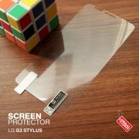 Lg G3 Stylus Anti Gores Antigores Screen Protector Guard Clear Bening