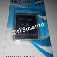 Baterai M-COM Mito A250 Double Power 6000mAh