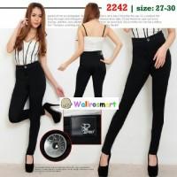 harga Celana Soft Jeans Punny High Waist Black /hw Punny Denny Denim Hitam Tokopedia.com