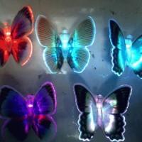 Lampu LED Kupu Kupu/ Led Kupu=Kupu 7 Warna