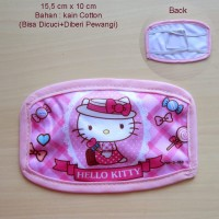 Hello Kitty Masker Mulut Kain Type1