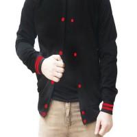 harga Lanlan Winter Varsity Jacket - Hitam Tokopedia.com